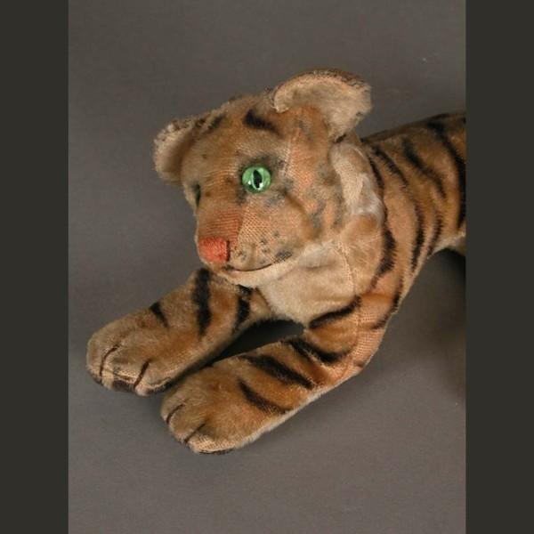 Steiff Tiger. 1950 - 1955.