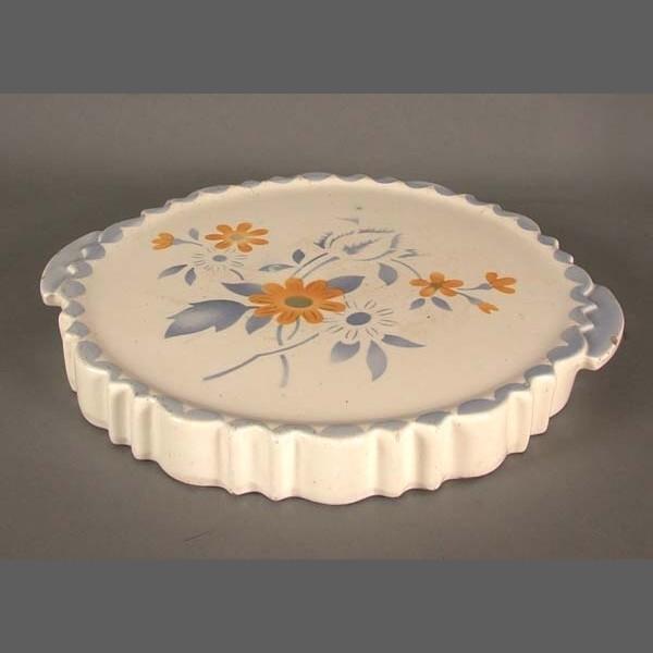 Art Deco cake plate