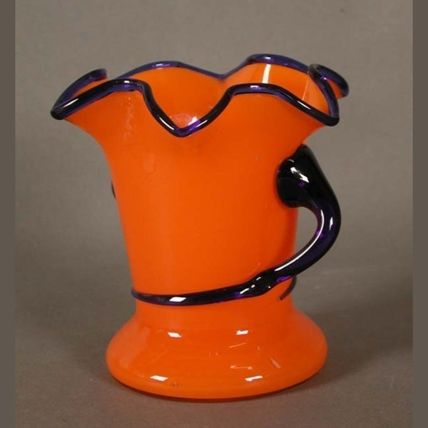 Art-Nouveau. Glass Vase Lötz