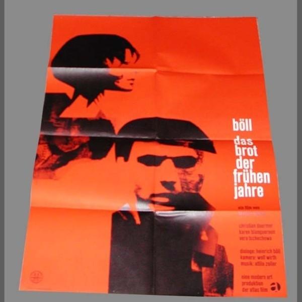 Cinema Vintage Poster. Böll...