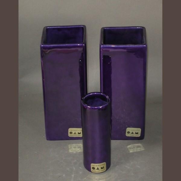 Drei Vintage Keramikvase...