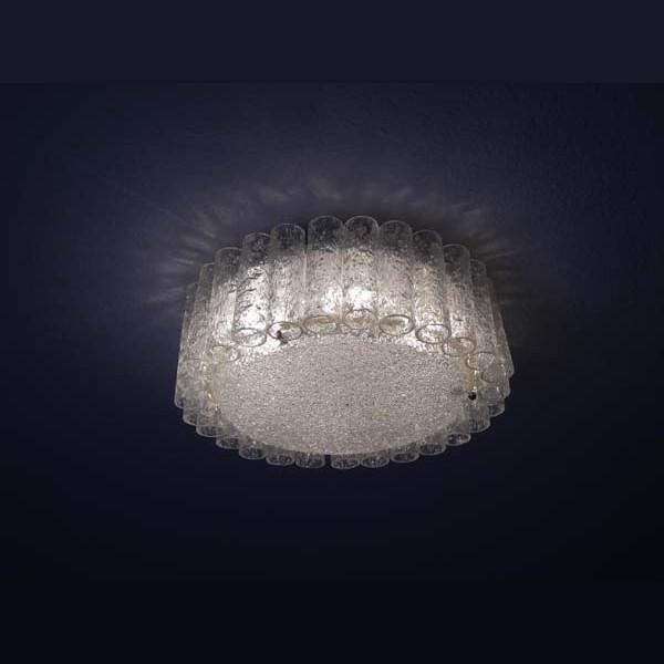Deckenlampe aus Glass....