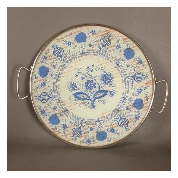 Vintage. Cake plate, glass...
