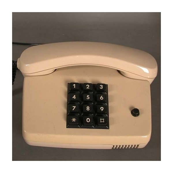 Vintage telephone, color...