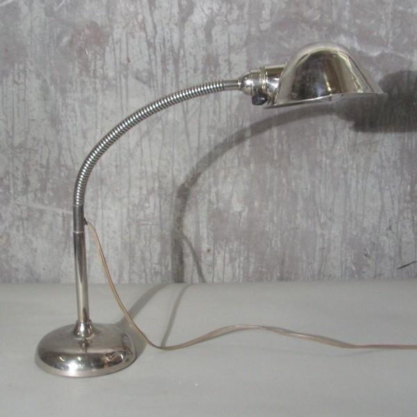 Gooseneck lamp. 1930 - 1935.