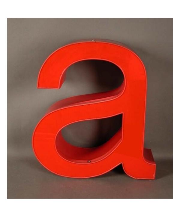 Big vintage sign letter - a - for decoration. 1970.