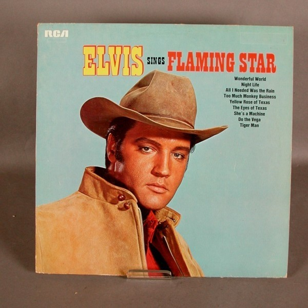 LP. Vinyl. Elvis Presley -...