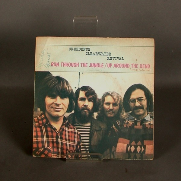Single. Vinyl. CCR - Run...