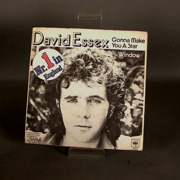 Single. Vinyl. David Essex...