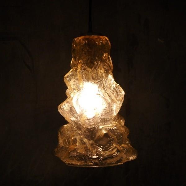 Deckenlampe aus Glas...