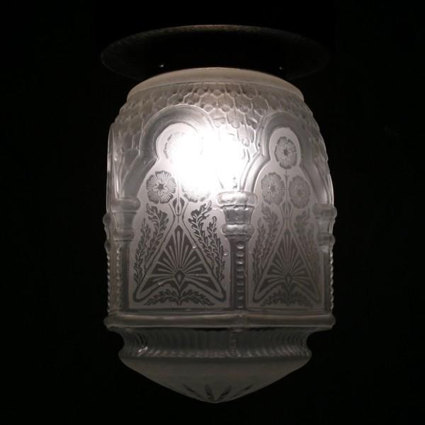 Art Nouveau ceiling lamp....