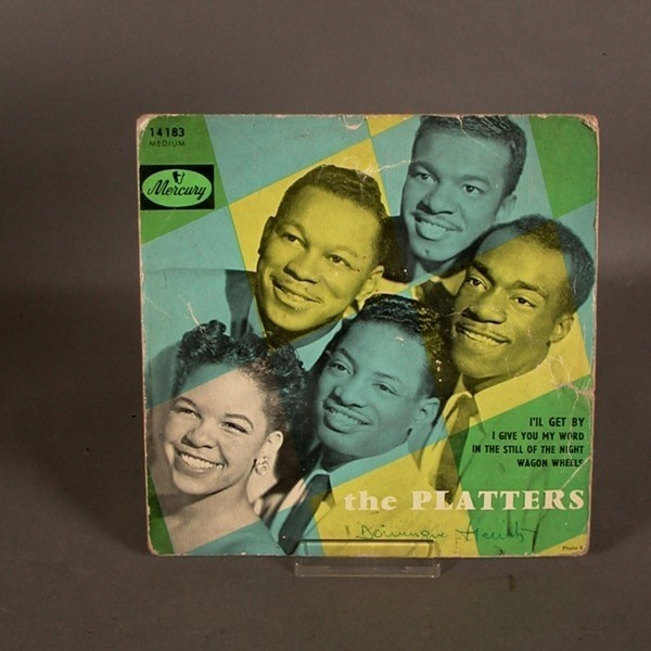 Vinyl. EP. The Platters....