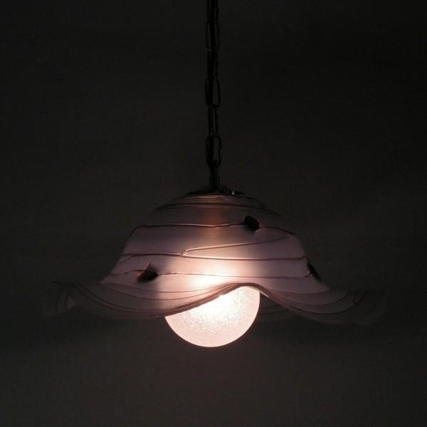 Schwere Glas Deckenlampe....
