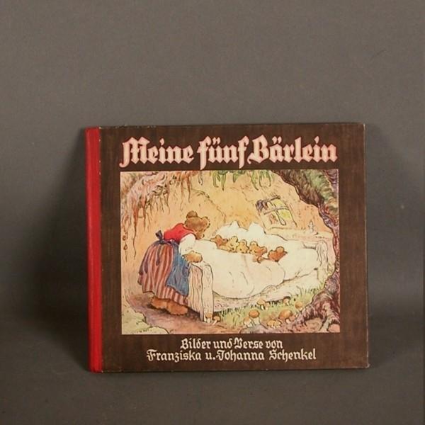 Fairytale book. Five bears....