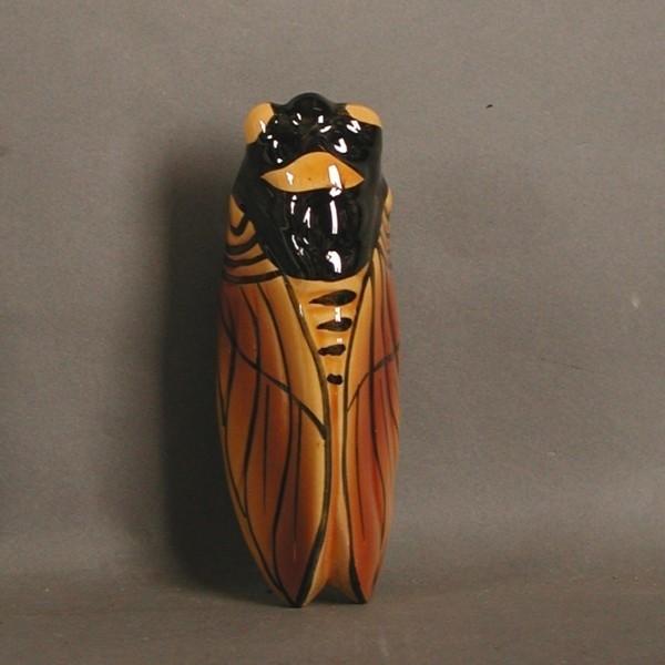 Keramik. Wandvase in Form...