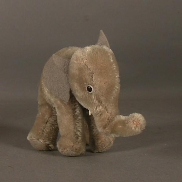 Steiff Elefant.  1955 - 1960.