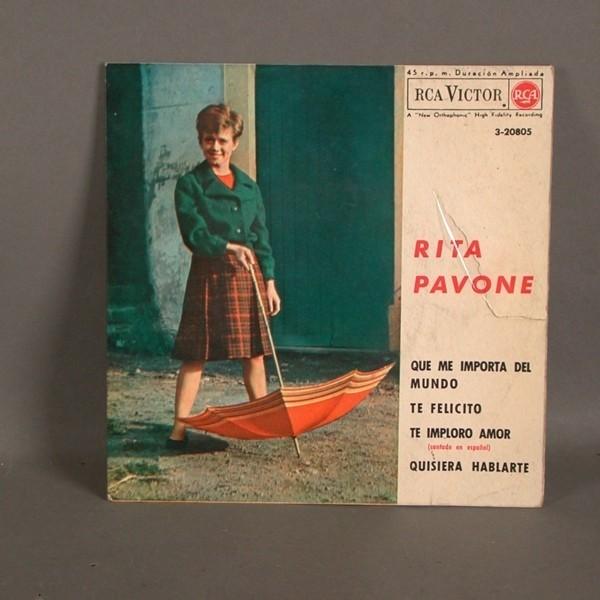 EP. Disco de vinilo. Rita...