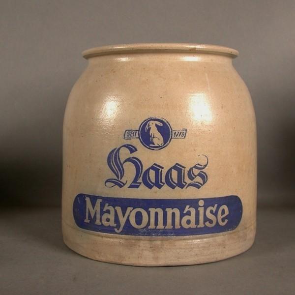 Haas Mayonnaise....