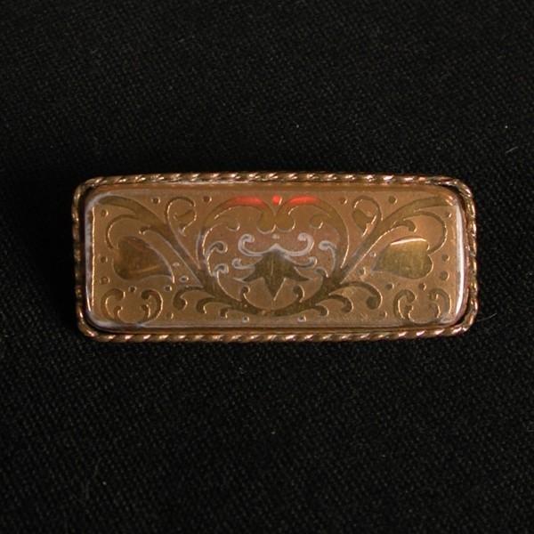 Rosenthal. Porcelain brooch...