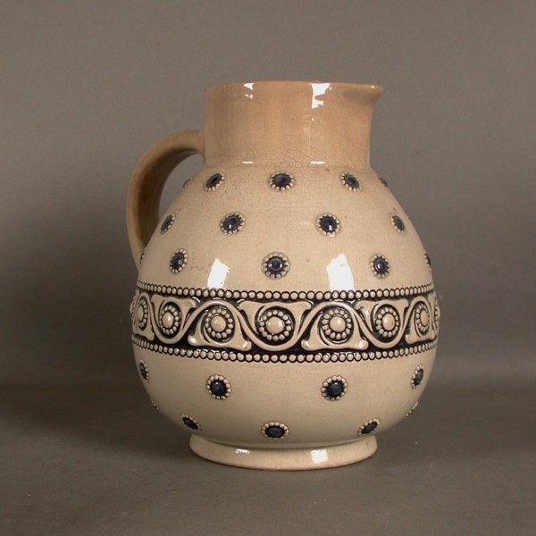 Art Nouveau. Pottery jug....