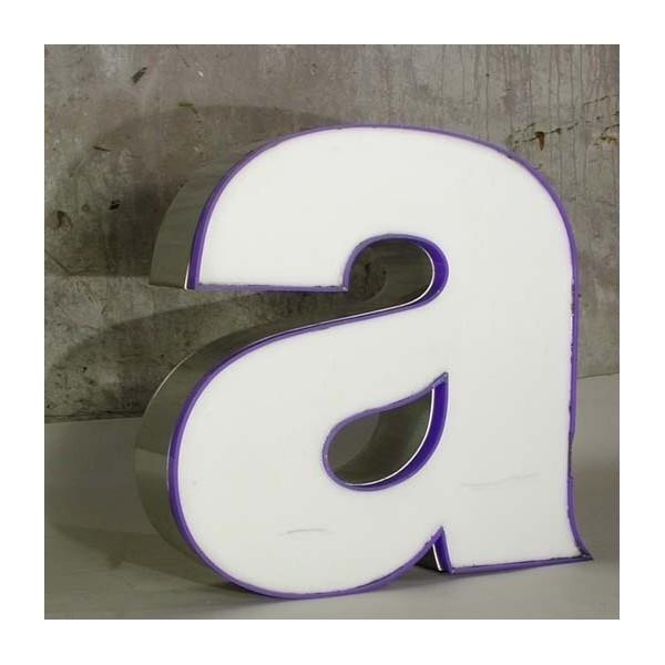 Big vintage sign letter - a...