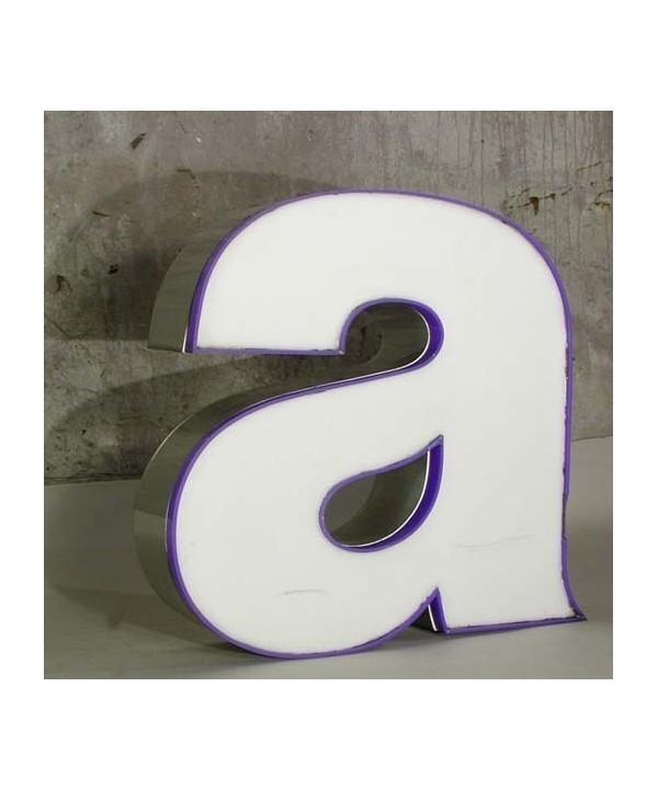 Big vintage sign letter - a - for decoration. 1970 - 1975.