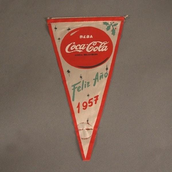Banderín de Coca - Cola....