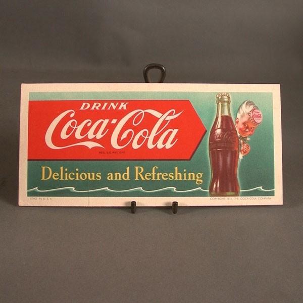 Coca - Cola Blotter. Kobold...