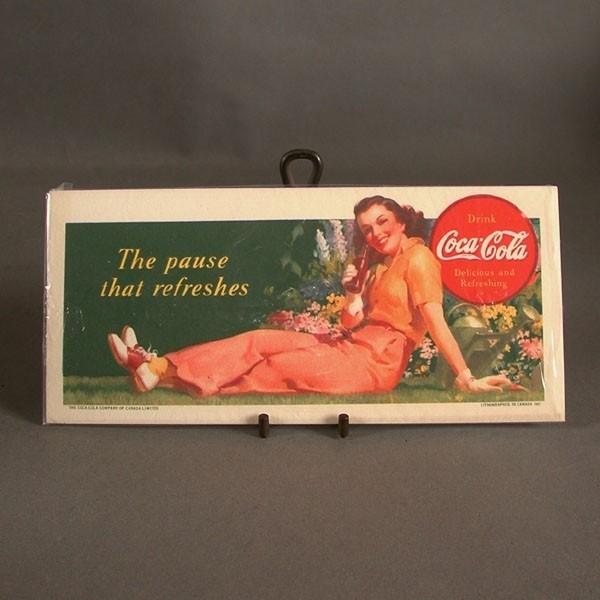 Coca - Cola Blotter. The...
