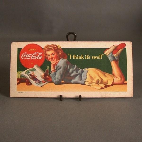 Coca - Cola Blotter. I...