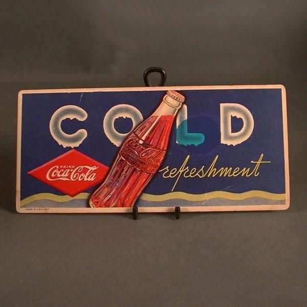 Coca - Cola Blotter. Cold...