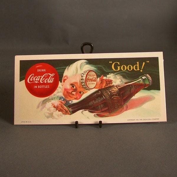 Coca - Cola Blotter. Good....