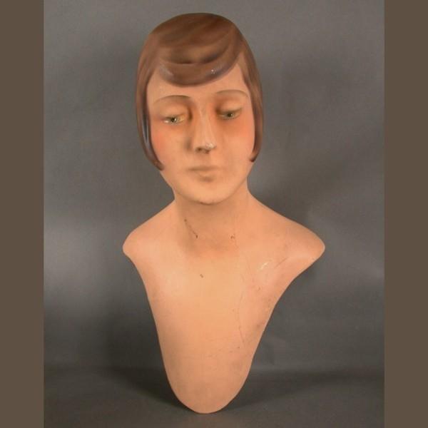 Arte Nouveau maniquí busto...