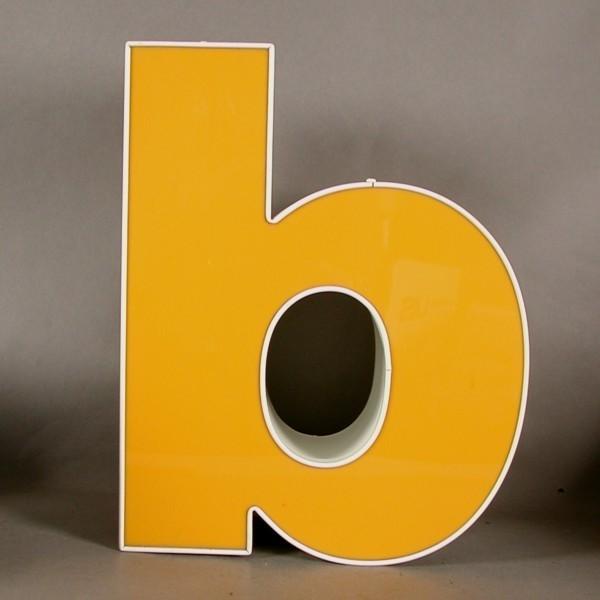 Big vintage sign letter - b...