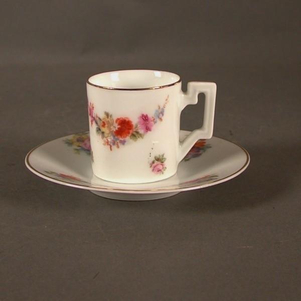 Art - Nouveau. Porcelain...