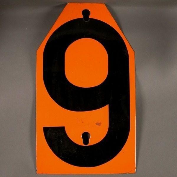 Big vintage sign cipher - 9...