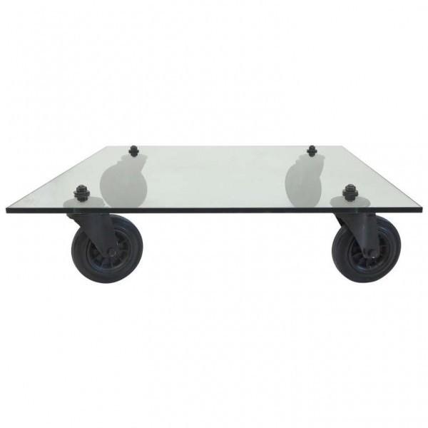 Design Glastisch auf...