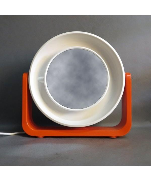 Allibert Schminkspiegel mit Beleuchtung. 1970 - 1975.