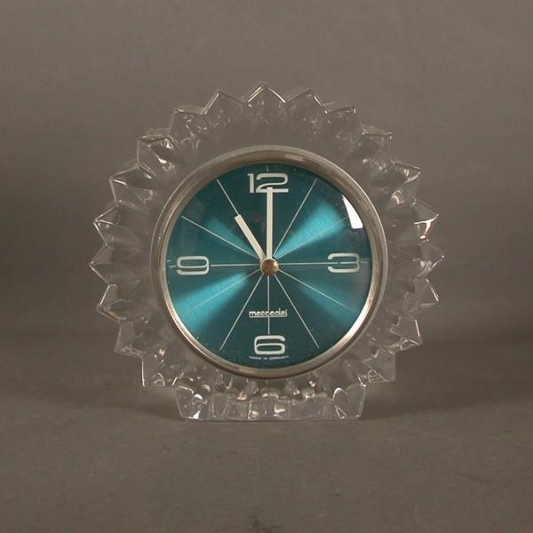 Vintage glass clock....