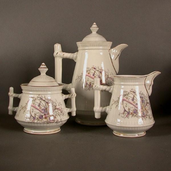 Art Nouveau porcelain...