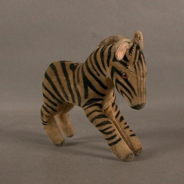 Steiff Zebra. 1955 - 1960.