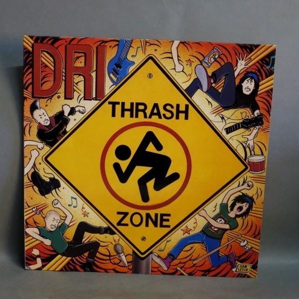 LP. D.R.I. - Trash Zone....