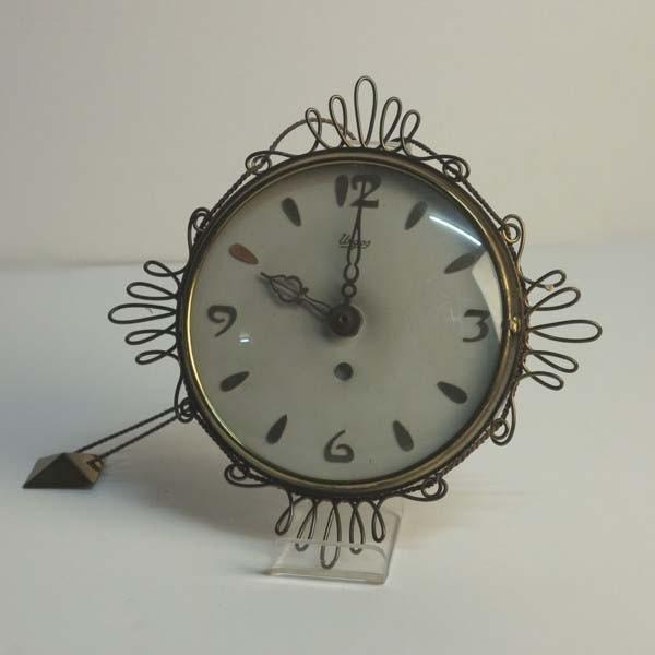 Vintage sunburst clock....