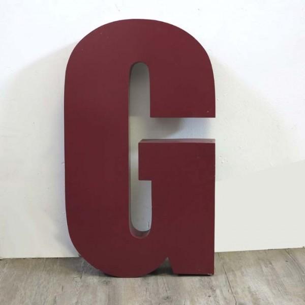 Vintage sign letter - G -...