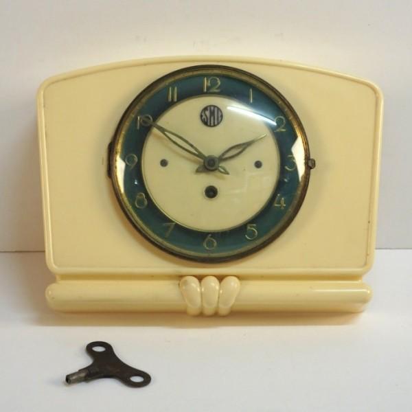 Art Deco wall clock. France...