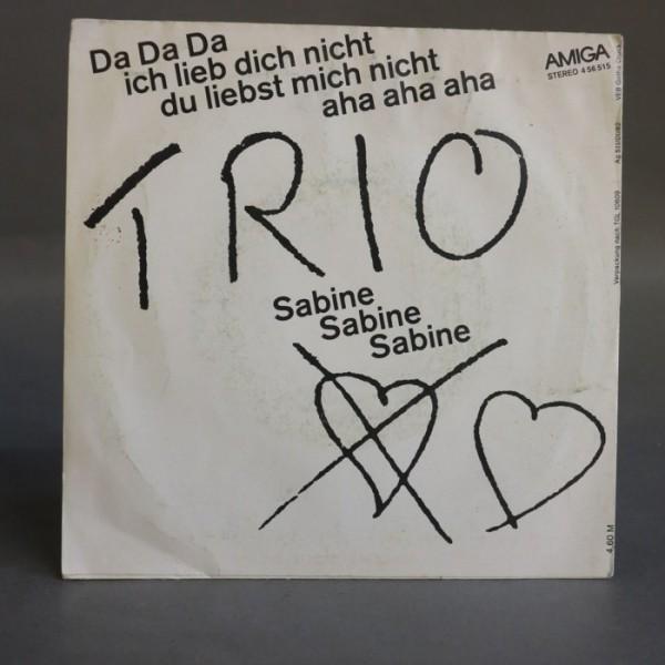 Single. Trio - Da, Da, Da....