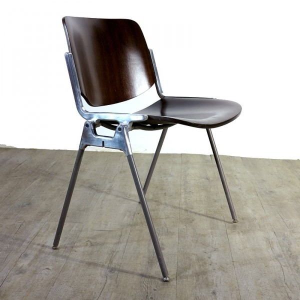 Mid Centurry Aluminum Chair...