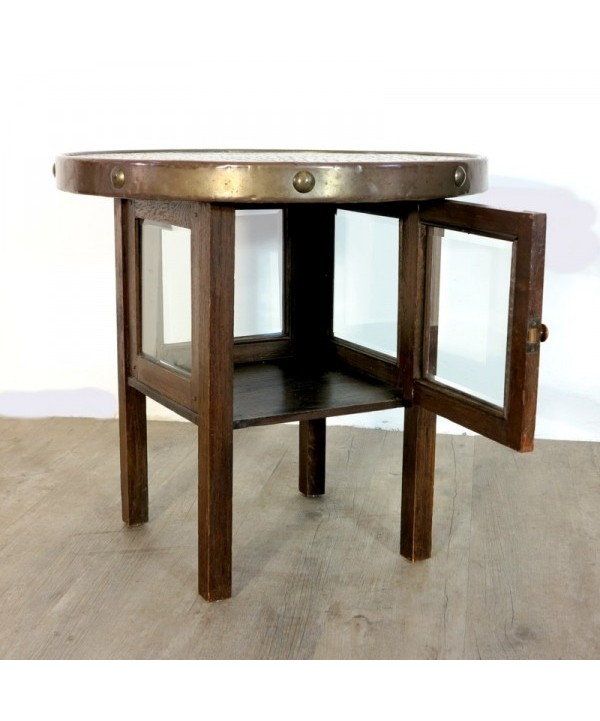 Art Deco coffee table with display cabinet 1930 - 1935