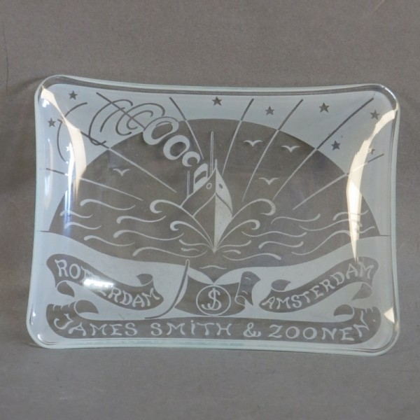 Art Deco Glasschale oder...
