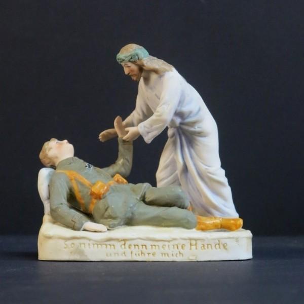 Biscuitware figurine. 1914...